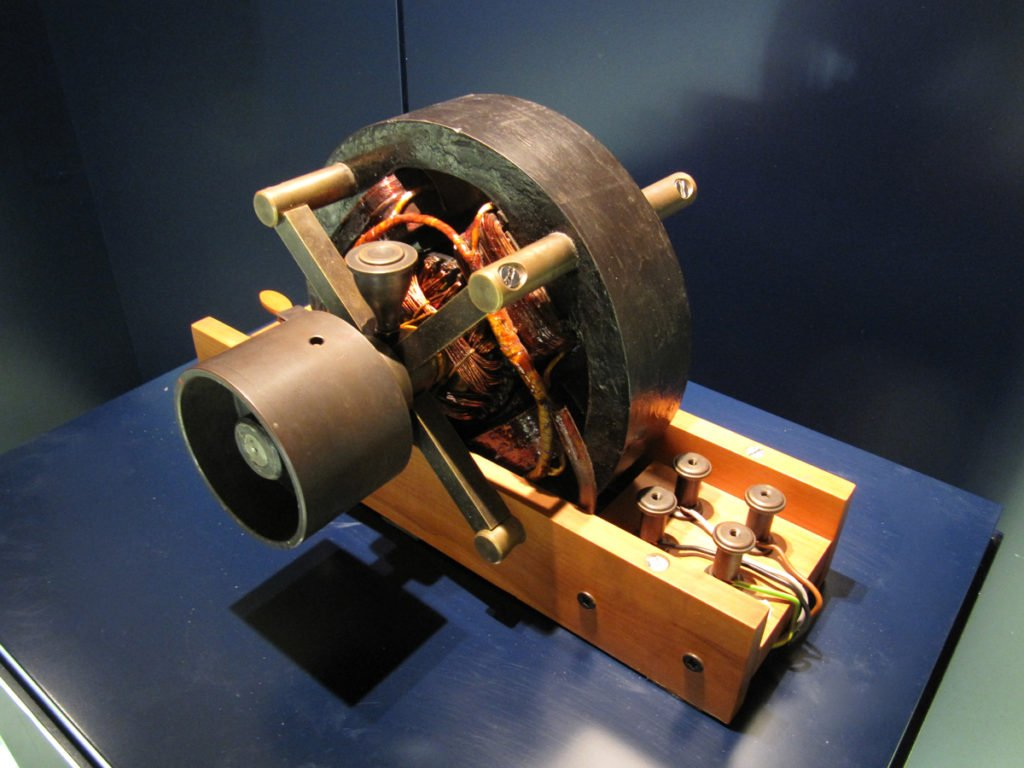 Tesla's Induction Motor Functional Replica