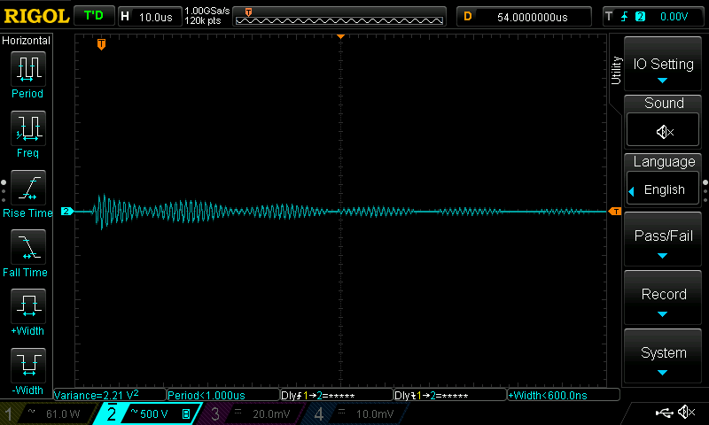 Differential mode using dedicated RF grounding (optimal)