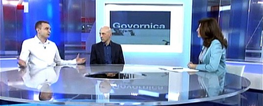 "Guest appearance by Zvonimir Rudomino on the TV show ""Govornica"": Nikola Tesla"